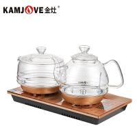 KAMJOVE/金灶 H9 全自动涌泉式上水电热水壶电茶壶全智能茶艺炉自动上水壶耐高温玻璃