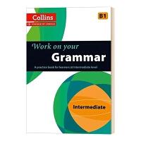 柯林斯攻破你的语法B1 英文原版 Collins Work on Your Grammar B1 柯林斯英语语法训练 剑