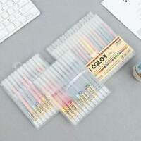 点石24色36色纤维笔 彩色中性笔 简约细水性勾线边手帐插画水彩