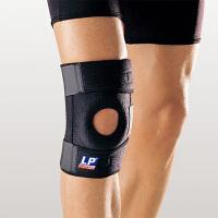 护膝733高透气户外登山弹簧支撑型篮球运动护膝 单只装 均码