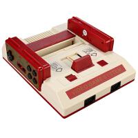 智能4K电视游戏机8位插FC卡无线双手柄怀旧经典红白机