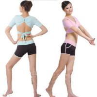 健身服 春夏款跳操服健美操服女瑜伽短裤套装
