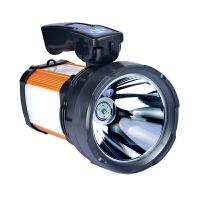 远程强光手电筒探照灯远射户外手提家用 太阳能版500W普光 太阳能版