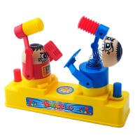 双人玩具对战儿童桌面游戏对打玩具亲子对打机器人弹射