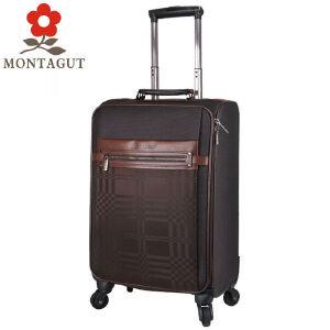 梦特娇(MONTAGUT) 拉杆箱20寸万向轮行李箱商务旅行箱男女登机箱密码箱内带电脑隔层