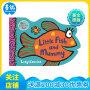 Little Fish and Mummy 动物形状纸板书 小鱼和妈妈 小鼠波波作者新作
