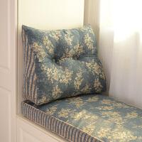 欧式亚麻抱枕靠垫 沙发抱枕套含抱枕芯靠枕三角靠背汽车腰枕