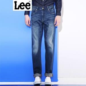Lee 【新款】2017秋冬新品鸡年水洗磨白牛仔裤男 735版型 中腰直脚直筒版型 L137351XJ4NH