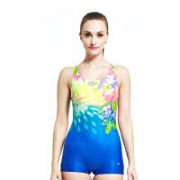 YINGFA英发 女连体平角游泳衣Y1669 女显瘦修身舒适泳衣