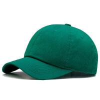 户外帽子男女韩版棒球帽户外运动绿色遮阳帽街头嘻哈休闲鸭舌帽