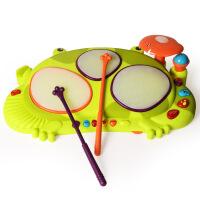 婴幼儿玩具 饶舌青蛙电子鼓玩具敲击乐器宝宝儿童早教益智礼盒装生日礼物 NK3086