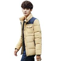 冬季新款男士韩版修身羽绒服男潮流青年薄款立领羽绒衣男保暖外套
