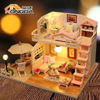 小房子迷你仿真娃娃屋 7-12岁儿童过家家玩具