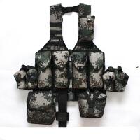 携行背具迷彩战术背心作业马甲训练携行装具配件袋单卖