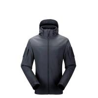 户外软壳冲锋衣男 户外休闲保暖抓绒衣外套