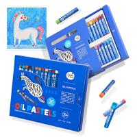 幼儿园宝宝涂鸦绘画画笔套装儿童油画棒安全可水洗水溶性