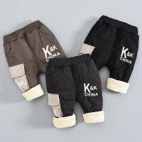 男童棉裤冬装儿童保暖裤冬季外穿