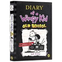 小屁孩日记系列第10册 英文原版 Diary of a Wimpy Kid 10 Old School 儿童课外章节桥梁