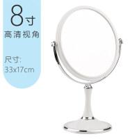 化妆镜台式简约大号欧式公主镜双面镜高清放大镜子书桌宿舍梳妆镜
