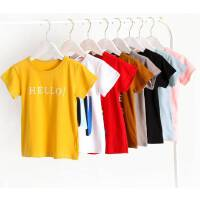 儿童纯棉短袖T恤2020新款卡通男童2-12岁童装夏宝宝上衣