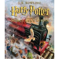Harry Potter And The Sorcerer's Stone 《哈利・波特与魔法石》(全彩插图版) IS