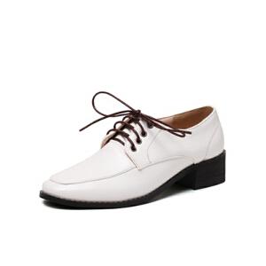 O'SHELL法国欧希尔新品020-a36-4欧美漆皮低跟女士单鞋