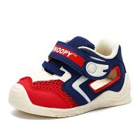 史努比童鞋儿童学步鞋夏季新款舒适机能鞋宝宝学步鞋