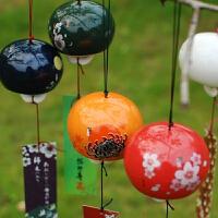 萌味 风铃 小清新日式樱花和风陶瓷挂件女生儿童房间门窗挂饰朋友同学对象生日礼物创意礼品