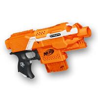 死拽夫枪改软弹枪玩具枪 热火精英系列冲锋发射器