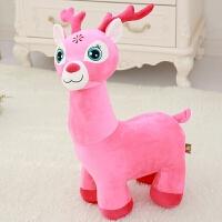 毛绒玩具长颈鹿公仔布娃娃玩偶圣诞节儿童礼物