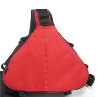 摄影斜跨包佳能单反相机包休闲单肩数码三角包
