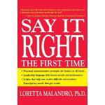 【预订】Say It Right the First Time