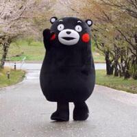 熊本熊人偶服节日cosplay行走卡通衣服动漫道具舞蹈服装 熊本熊