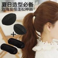 头发少弄蓬松头发 内蓬垫高盘发造型弄头发扎发器发根蓬松夹