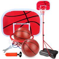 家用落地式球类玩具宝宝皮球男孩子儿童篮球架可升降2-4-5-8-10岁