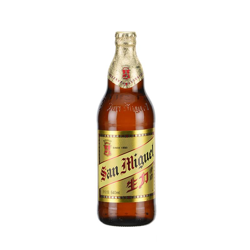 [当当自营] San Miguel生力啤酒 640ml*12瓶 整箱自营食品
