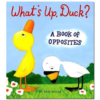 【预订】英文原版童书 What's Up 鸭子你怎么了?纸板书 儿童读物启蒙绘本 原版进口 一般付款后11-13周发货