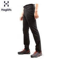 Haglofs火柴棍户外春秋男款弹力舒适软壳长裤603675 欧版