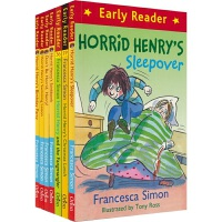 【首页抢券300-100】Horrid Henry Early Reader Collection 淘气包亨利 英语桥梁