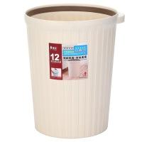 [当当自营]顺美 12L垃圾桶 圆形纸篓 简易欧式卫生桶 SM-2851