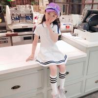 女童裙子夏装公主连衣裙夏季学院风儿童潮衣
