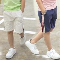 儿童短裤外穿夏季童装男童沙滩裤中大童宽松中裤纯棉薄款五分裤子
