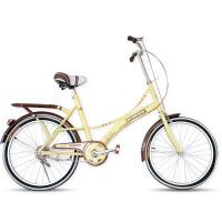 22寸女士复古韩版轻便通勤成人公路车公主淑女自行车单速女式单车