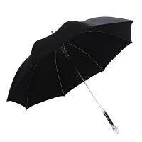 20180415141333231衡利高尔夫雨伞 直杆水晶防风男士商务伞 防紫外线绅士伞黑色雨伞 KOOL 雨伞