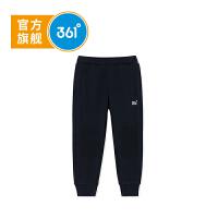 【线下同款】361度 童装男童针织长裤2018年秋季新款小童裤子儿童运动裤 K51834555