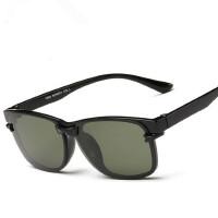 近视墨镜 近视太阳镜偏光 轻巧TR90全框镜架男女款眼镜框夹片吸片