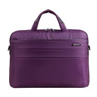 手提电脑包女13寸14寸笔记本单肩包欧美时尚手提电脑包 14英寸