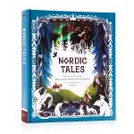 北欧故事集 Nordic Tales 英文原版小说 北欧民间 挪威瑞典神话故事传说 北欧文化启蒙 英语课外读物 插图精