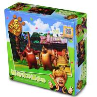 玩具堡 熊出没系列 儿童益智拼图 48粒100粒
