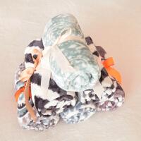 家纺毛毯 法兰绒单人办公室膝盖毯宠物毯子护腿空调毯 随机 70*100cm